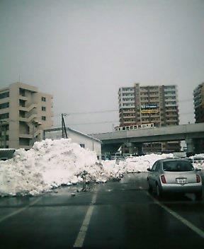雪山(^^;)